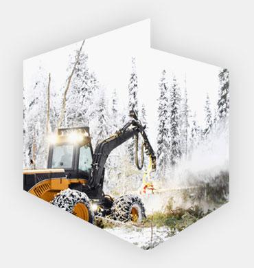 Maszyny do prac leśnych i obróbki drewna